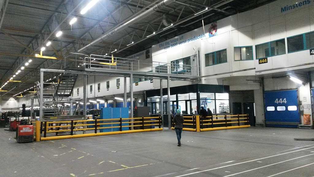 Loopbrug AH Distributie centrum