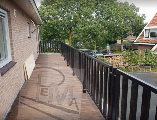 Vervangen hekwerk balkon in Amsterdam