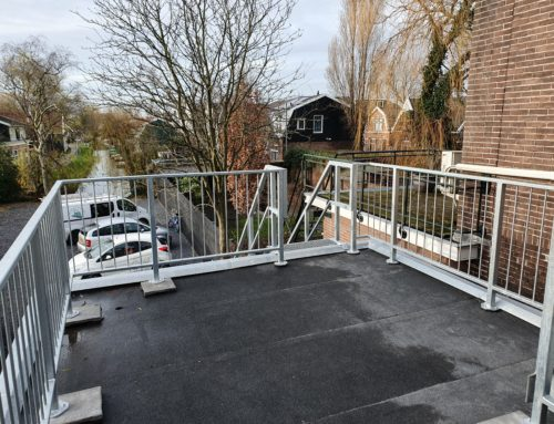 Verzinkt stalen trappen in Zaandam